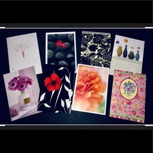 Eight Hallmark Greeting Cards - Blanks NWT
